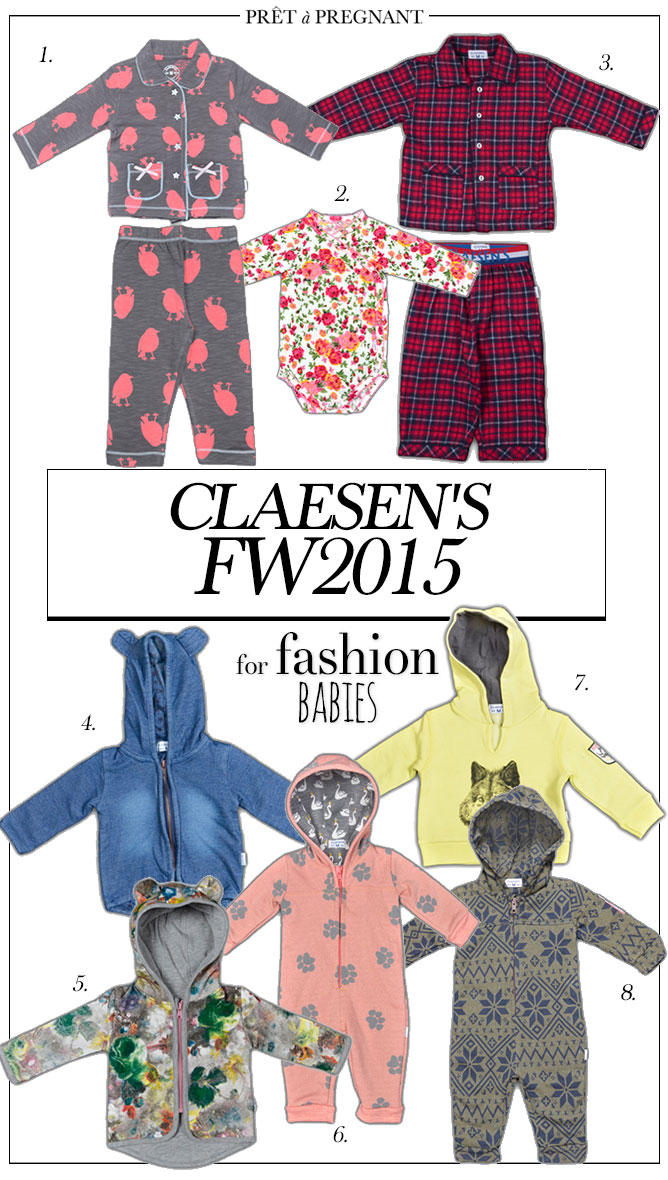 219d45a93cb Claesen s winter collection for babies is soft and sweet - Prêt à ...