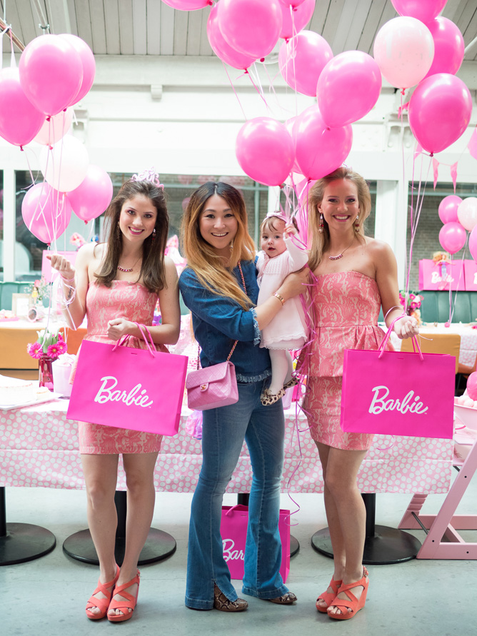 Jade Ming S First Birthday Barbie Party Pr 234 T 224 Pregnant