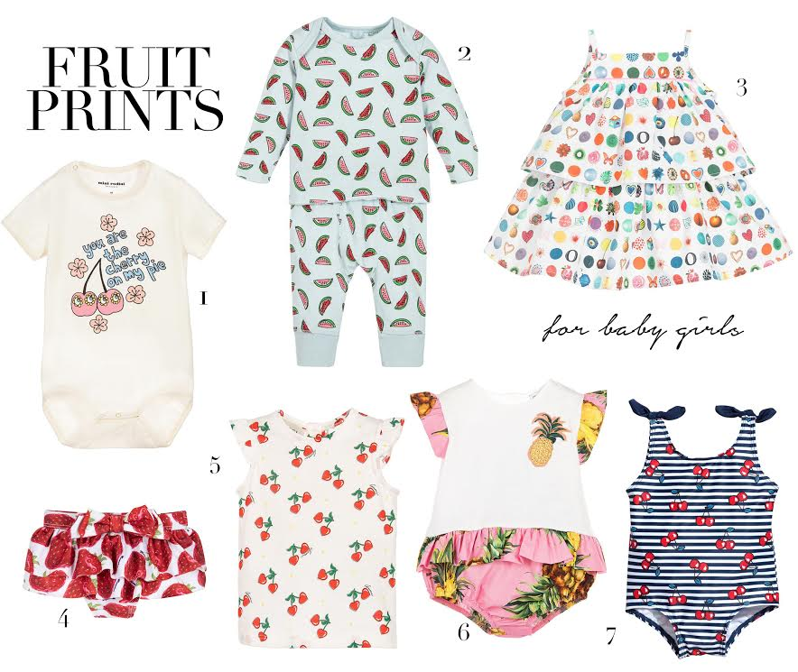 547122a18f5836 Summer-time  It s all about fruit prints for baby girls - Prêt à Pregnant