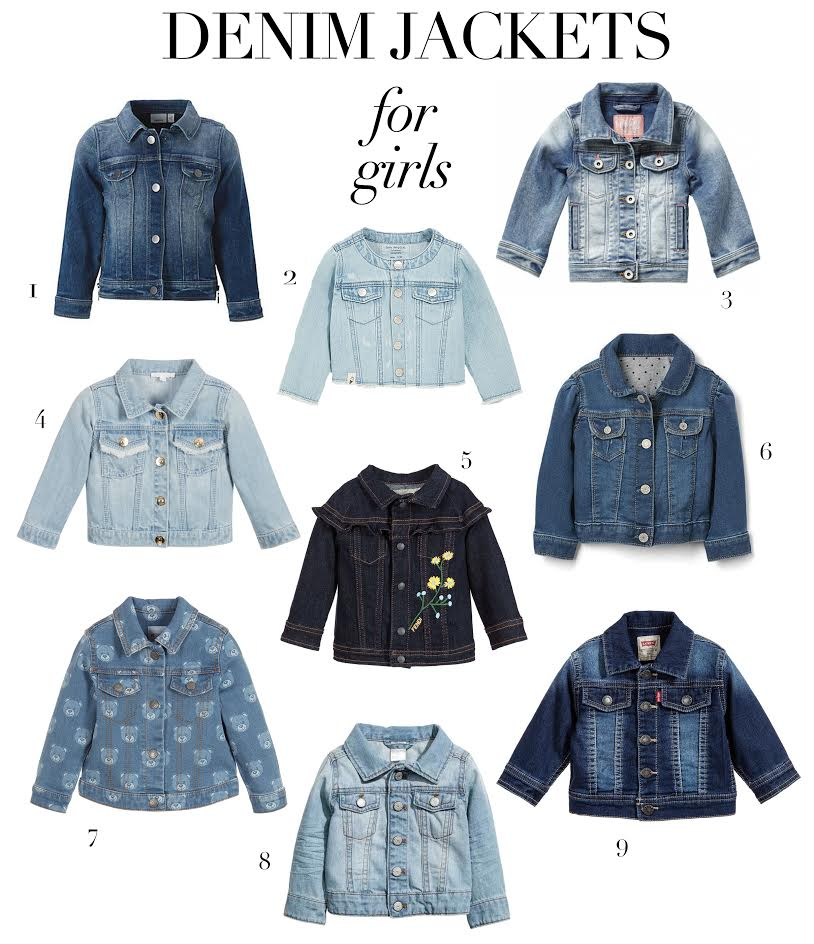 a6f8f6af5f 9 shades of denim  Jackets for baby girls - Prêt à Pregnant