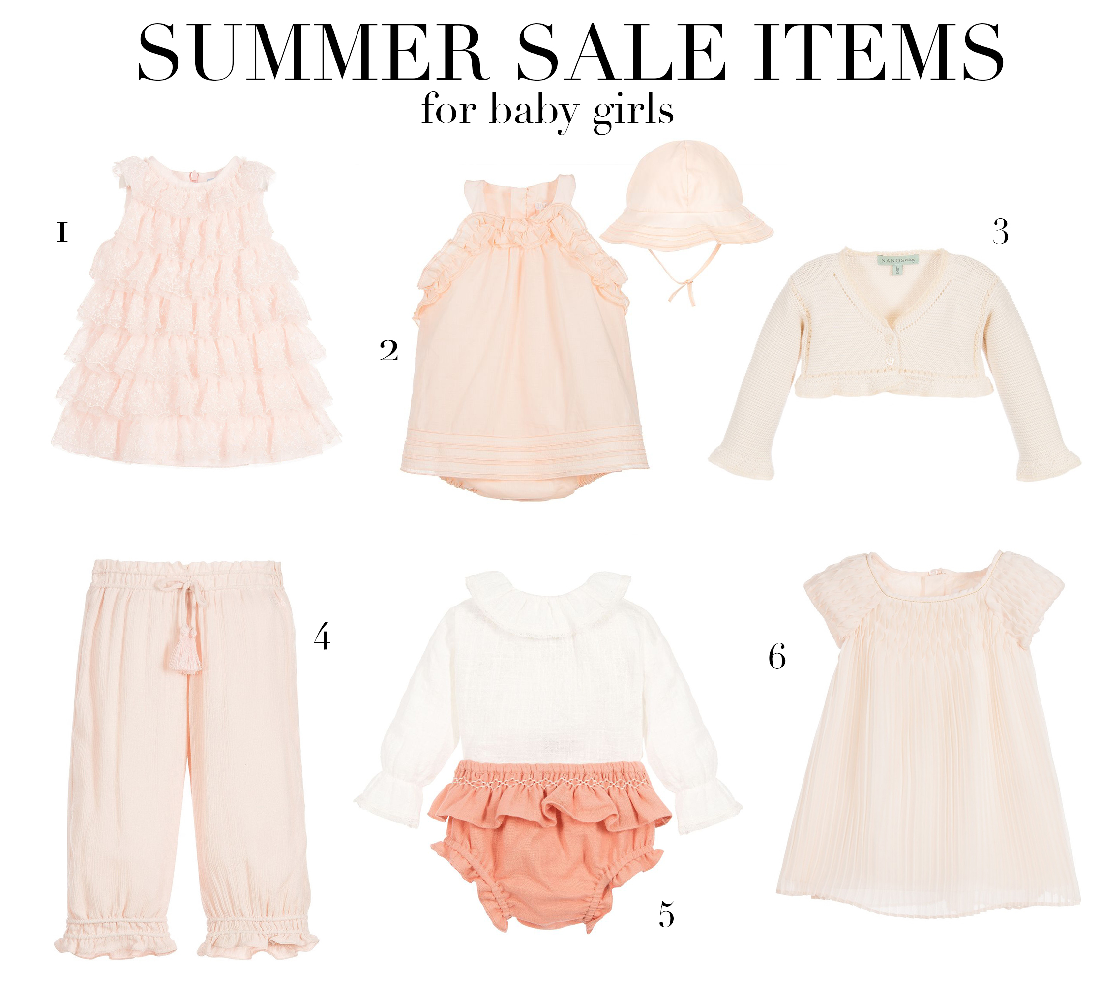 4f6ea49f199c2f Summer sale items for baby girls - Prêt à Pregnant