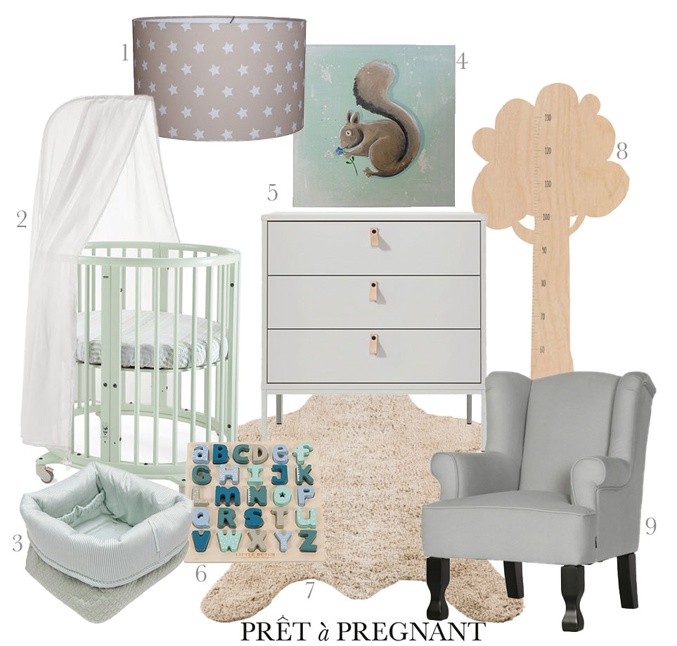 Mint Green Baby Room For The Sweetest
