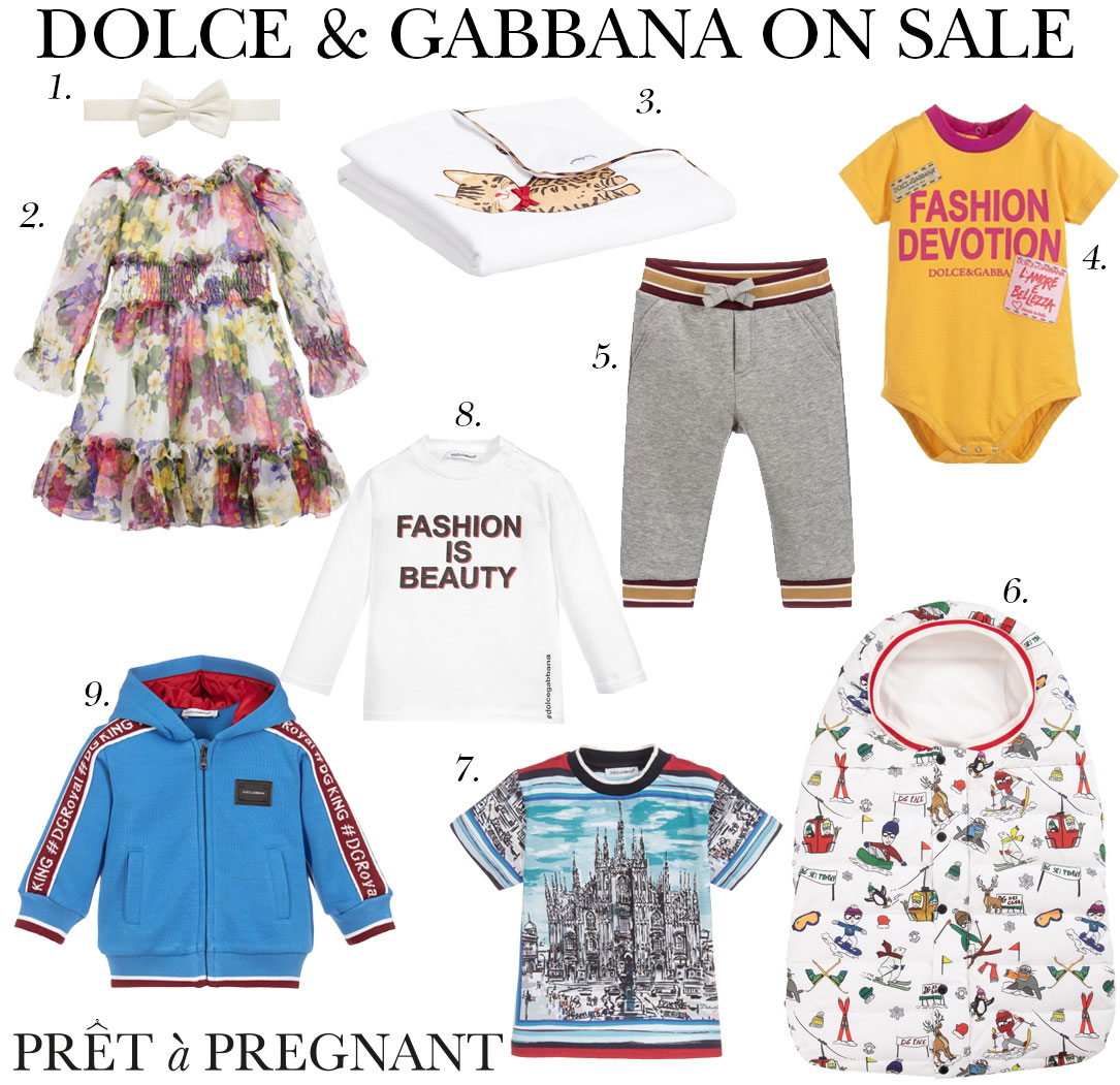 a67fcfb10 ... items from the Dolce & Gabbana baby collection at ChildrenSalon. We  have found you the most adorable floral dress for girls and cozy and  fashionable ...